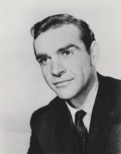 Sean Connery Smiling as James Bond Fine Art Print