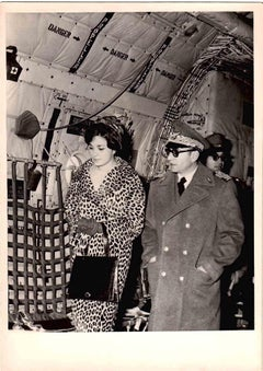Shah and Farah Diba, King [...] - Black and White Photo - 1970s