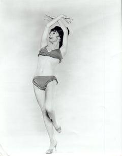 Shirley MacLaine Pinup in Bikini Vintage Original Photograph
