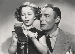 Shirley Temple Singing with Jack Haley Fine Art Print