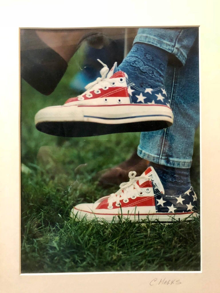 Americana Vintage C Print Color Photo Signed Marks Edition 1