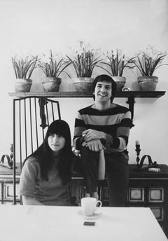 Sonny and Cher with Plants Fine Art Print