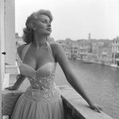 Sophia Loren -  Oversize Silver Gelatin Print
