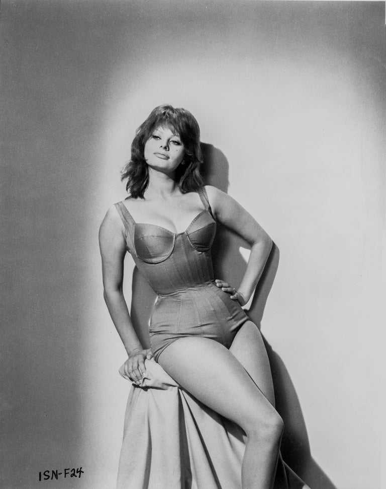 Sophia Loren Pinup Fine Art Print