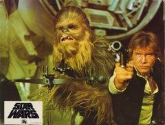 Star Wars - Han Solo & Chewbacca - Original Lobbycard '77