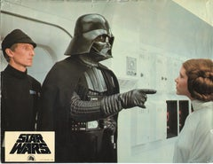 Star Wars - Leia Organa & Darth Vader - Original Lobbycard '77