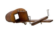 Stereograph Viewer, rosewood for Victorian 3D photographs