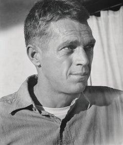 Steve McQueen Candid Profile Portrait Fine Art Print