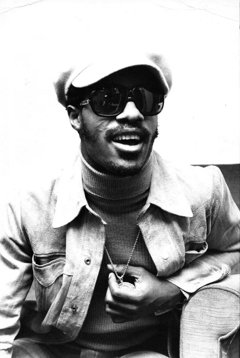 Unknown - Stevie Wonder Smiling Vintage Original ...