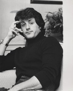 Sylvester Stallone Candid Fine Art Print