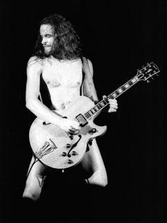 Ted Nugent: The Naked Guitarist Vintage Original Photograph