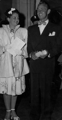 The American Actor Alan Ladd - Original Vintage Photograph - 1940s