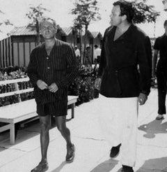 The American Actor Orson Welles - Original Vintage Photograph - 1950s
