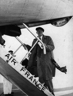 The American Director John Huston - Original Vintage Photograph - 1960/70