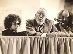 The American Director John Huston - Original Vintage Photograph - 1980s