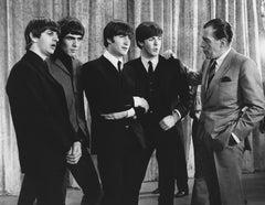 The Beatles First Live Performance on Ed Sullivan Globe Photos Fine Art Print
