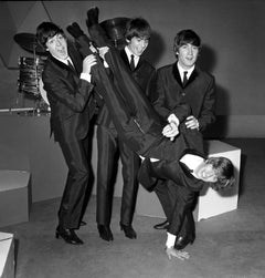 The Beatles Having Fun Globe Photos Fine Art Print