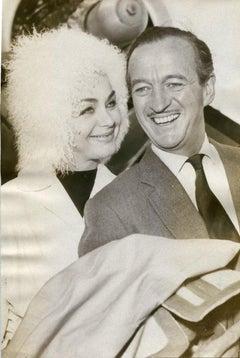 The British Actor David Niven - Original Vintage Photograph - 1962