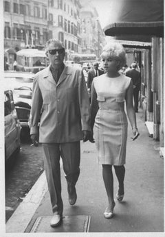 The British Actor Stewart Granger and his Wife - Vintage Photograph - 1960s