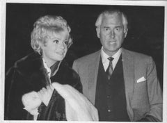 The British Actor Stewart Granger and his Wife - Vintage Photograph - 1964