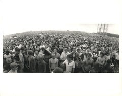 The Crowd at Woodstock Vintage Original Photograph