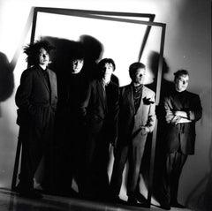 The Cure Artistic Group Portrait Vintage Original Photograph
