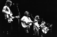 The Eagles Performing at Wembley Vintage Original Photograph