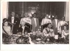 The Feast, Shah and Farah Diba, King [...] - Original Photograph - 1970s