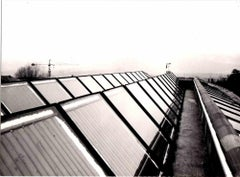 The First Solar Panels - Vintage Photograph - 1980s