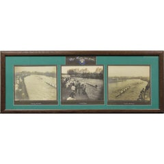 """The Henley Regatta"" circa 1911 Triptych"