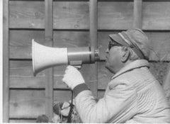 The Japanese Director Akira Kurosawa - Original Vintage Photograph - 1980