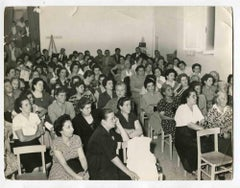 The Lecture - Vintage Photograph About Women Rights - 1960s