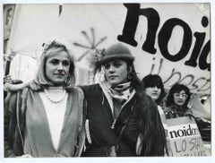 The Protest - Historical Photograph About the Feminist Movement - 1970s