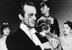 The Swedish Actor Jarl Kulle - Vintage b/w Photograph - 1964