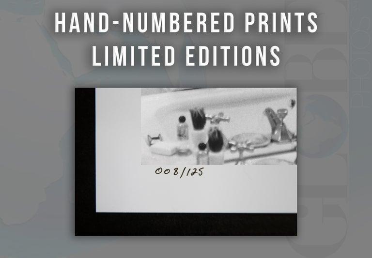 Tony Curtis Shaving Fine Art Print For Sale 1