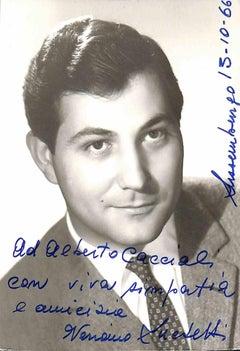Veriano Luchetti Autographed Photograph - 1966