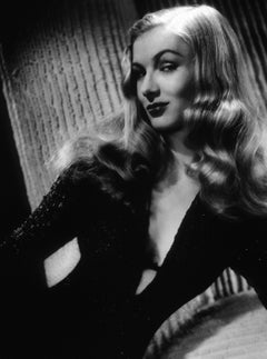 Veronica Lake Dramatic Studio Portrait II Globe Photos Fine Art Print