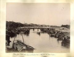 Views of Shanghai - Original Albumen Print - 1890s