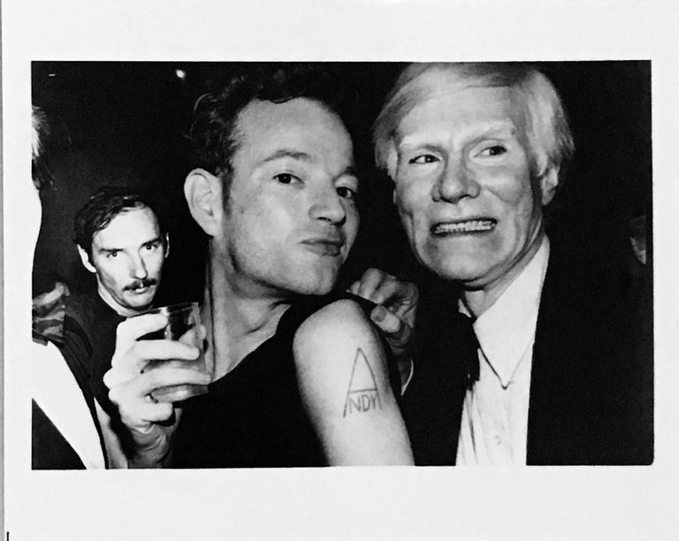 Vintage Andy Warhol photograph (Andy Warhol superstar Jackie Curtis)  - Photograph by Unknown