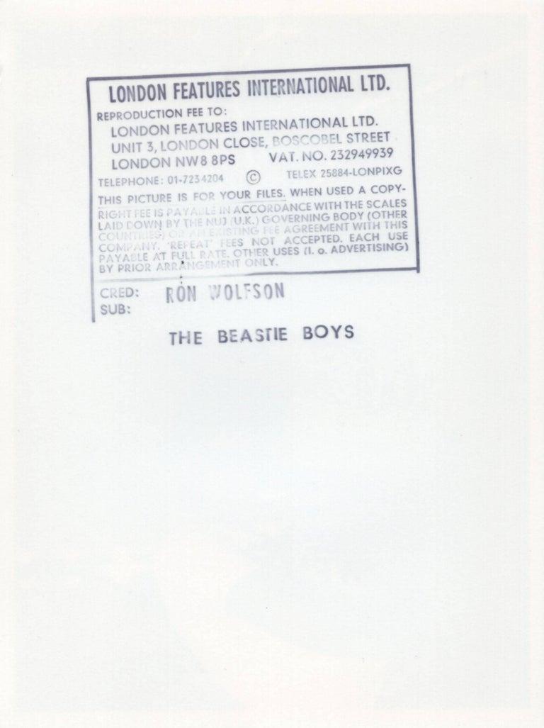 Vintage Beastie Boys Photograph (1980s Hip Hop photography) - Gray Portrait Photograph by Unknown