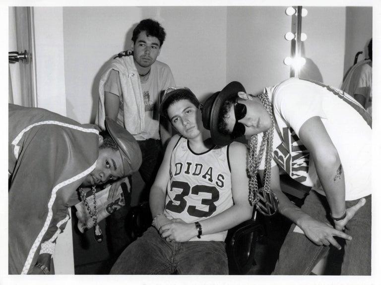 Unknown Portrait Photograph - Vintage Beastie Boys Photograph (1980s Hip Hop photography)