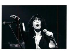 Vintage 1970s Patti Smith Photograph (Rock Photography)