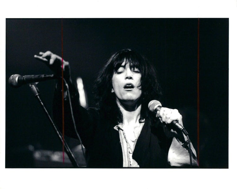 Unknown black and white photograph vintage patti smith photograph rock photography