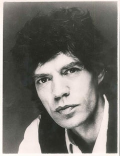 Vintage Photo of Mick Jagger - 1980s