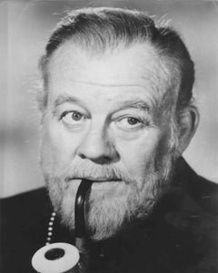 Vintage Photo Portrait of Burl Ives - 1970s