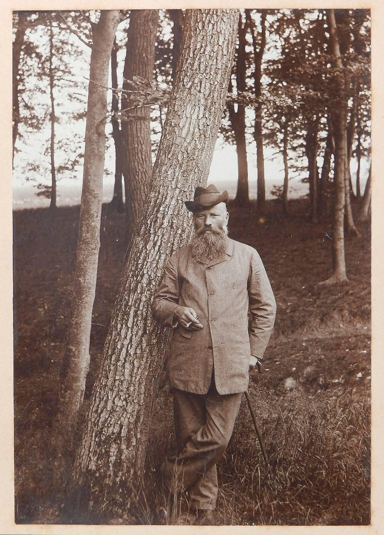 Vintage Portrait Photograph of a Country Gentleman Sepia toned German Man