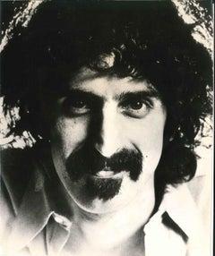 Vintage Photographic Portrait of Frank Zappa - 1973