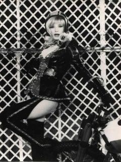 Vintage Portrait of Monica Vitti - Vintage B/W photo - 1960s
