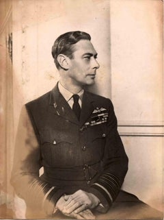 Vintage Portrait of the Duke of Windsor - Vintage B/W photo - 1930s