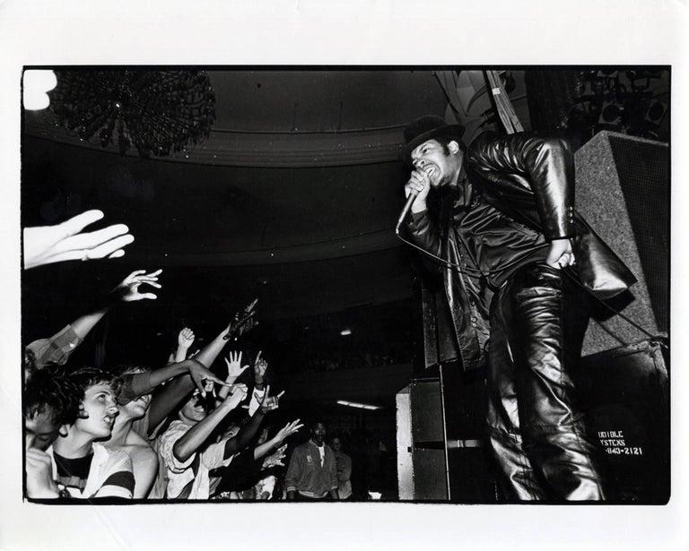 Unknown Figurative Photograph - Vintage Run DMC Photograph (1980s Hip Hop photography)